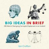Big Ideas in Brief: 200 World-Changing Concepts Explained In An Instant