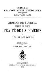 Traité de la comédie et des spectacles