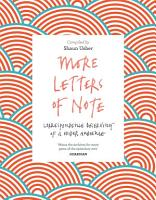 More Letters of Note PDF