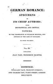 Richter, J. P. F.: Army-chaplain Schmelzle's journey to Flätz. Life of Quintus Fixlein