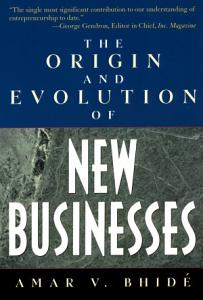 The Origin and Evolution of New Businesses PDF