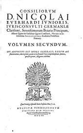 Consilia: Volume 2