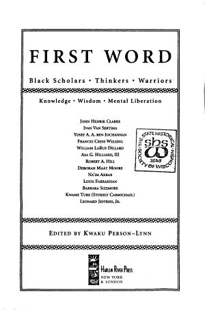 First Word PDF