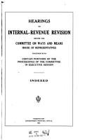Hearings on Internal revenue Revision PDF