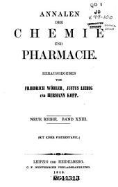 Annalen der Chemie und Pharmacie: Bände 23-24;Bände 99-100