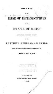 Journal of the House of Representatives of the State of Ohio: Volume 40, Part 2