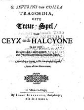 Tragoedia, ofte treur-spel, van Ceyx ende Halcyone: Volume 1