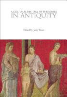 A Cultural History of the Senses in Antiquity PDF
