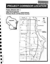 Lake Ariel Extension, State Trunk Highway 31 - Layton Avenue, Kenosha, Racine, and Milwaukee Counties, Draft Environmental Impact Statement