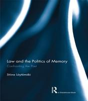 Law and the Politics of Memory PDF