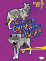 Can You Tell a Coyote from a Wolf  PDF