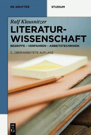 Literaturwissenschaft PDF