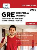 GRE Analytical Writing PDF