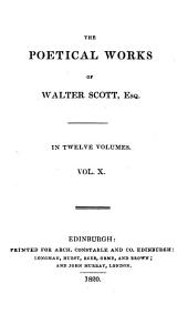The poetical works of Walter Scott