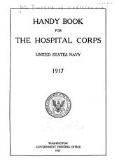 Handbook of the Hospital Corps, United States Navy