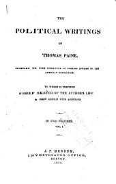 The Political Works of Thomas Paine: Volume 1
