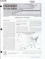Agricultural Statistics PDF