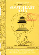 Accessions List  Southeast Asia PDF