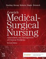Lewis s Medical Surgical Nursing E Book PDF