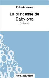 La princesse de Babylone: Analyse complète de l'œuvre