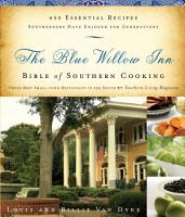 The Blue Willow Inn Bible of Southern Cooking PDF