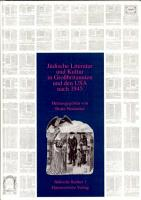 J  dische Literatur und Kultur in Grossbritannien und den USA nach 1945 PDF