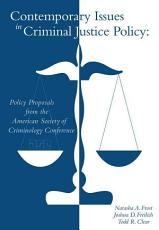 Contemporary Issues in Criminal Justice Policy PDF