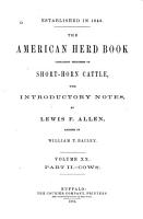 The American Shorthorn Herd Book PDF