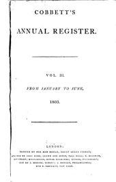 Cobbett's Weekly Political Register: Volume 3
