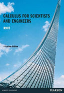 Calculus for Scientists and Engineers  Custom Edition