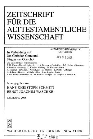 ZAW PDF