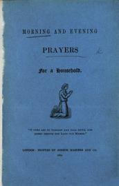 Morning And Evening Prayers For A Household