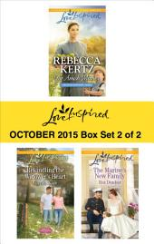 Love Inspired October 2015 - Box Set 2 of 2: The Amish Mother\Rekindling the Widower's Heart\The Marine's New Family