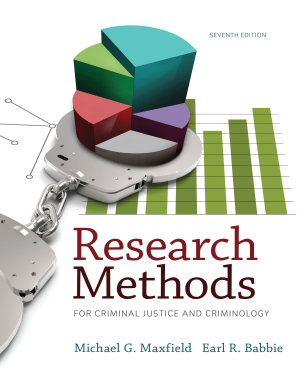 Research Methods for Criminal Justice and Criminology PDF