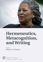 Hermeneutics  Metacognition  and Writing PDF