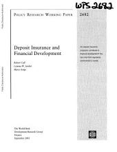 Deposit Insurance and Financial Development