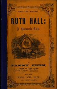 Ruth Hall  by Fanny Fern PDF