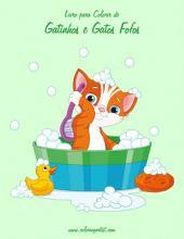 Livro para Colorir de Gatinhos e Gatos Fofos 1