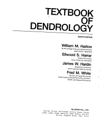 Textbook of Dendrology