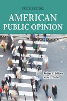 American Public Opinion PDF