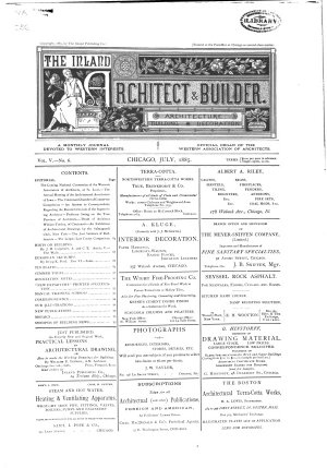 The Inland Architect and News Record PDF