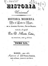 Historia moderna: Volumen 19