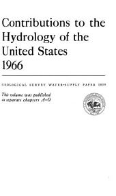 Geological Survey Water-supply Paper: Issue 1839