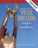 Introduction to Special Education Book