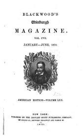 Blackwood's Edinburgh magazine: Volume 107