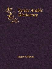 Syriac Arabic Dictionary