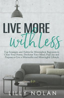 Live More with Less PDF