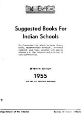 Suggested Books for Indian Schools PDF