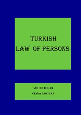 TURKISH LAW OF PERSONS PDF