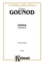 Songs, Volume IV: Vocal Collection